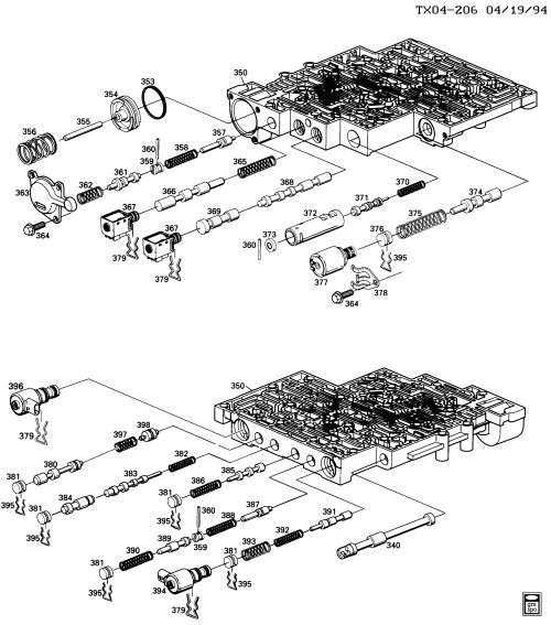 small resolution of 4l60e valve body schematic wiring diagram forward 2004 4l60e valve body diagram 4l60e diagram valve body