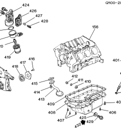 h engine asm 3 8l v6 part 4 oil pump pan and related parts  [ 2560 x 1905 Pixel ]
