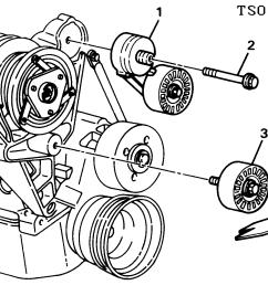 tensioner drive belt idler pulley [ 2560 x 1068 Pixel ]