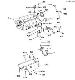 blazer 4wd engine asm 6 5l v8 diesel part 4 oil pump pan u0026 relatedchevy 6 5 diesel engine parts diagram 11 [ 3008 x 2504 Pixel ]