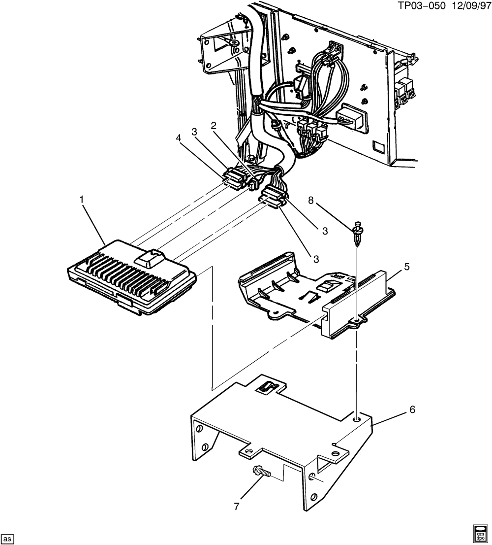 medium resolution of p30 van v c m module wiring harness chevrolet epc online nemiga com