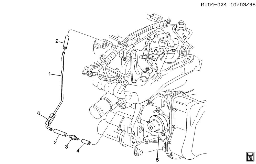 medium resolution of modulator pipe automatic transmission