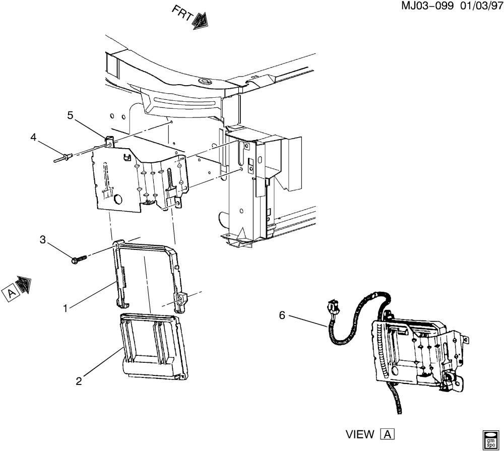 medium resolution of cavalier p c m module wiring harness u003e chevrolet epc online cavalier p c m module wiring
