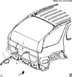 buick rendezvous spare parts catalog epc [ 2399 x 2537 Pixel ]