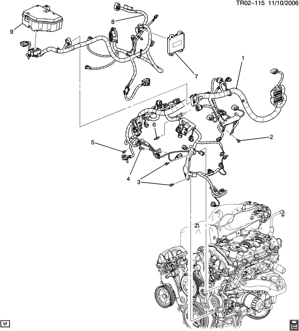 medium resolution of buick enclave awd rv1 wiring harness engine epc online nemiga com