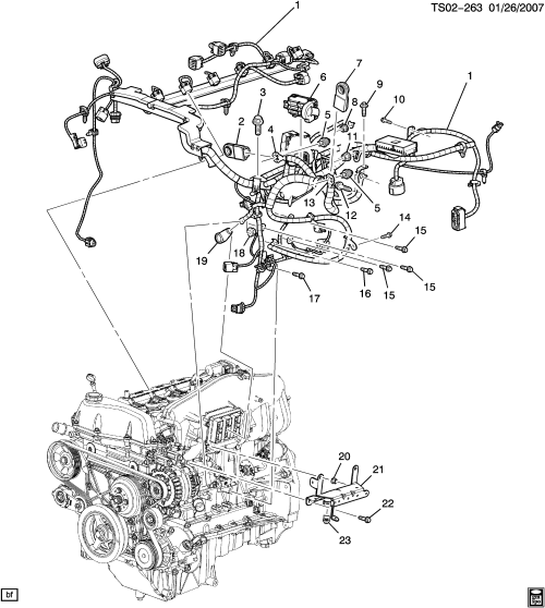 small resolution of wiring harness engine