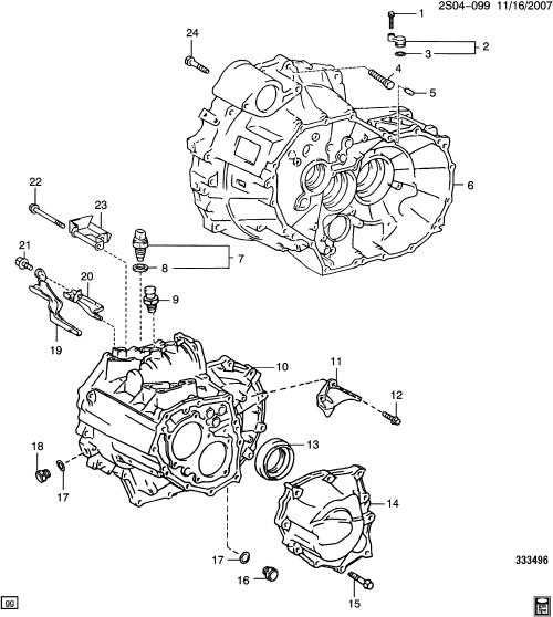 small resolution of pontiac vibe s26 5 speed manual transmission mvc part 2 clutch pontiac vibe transmission diagram
