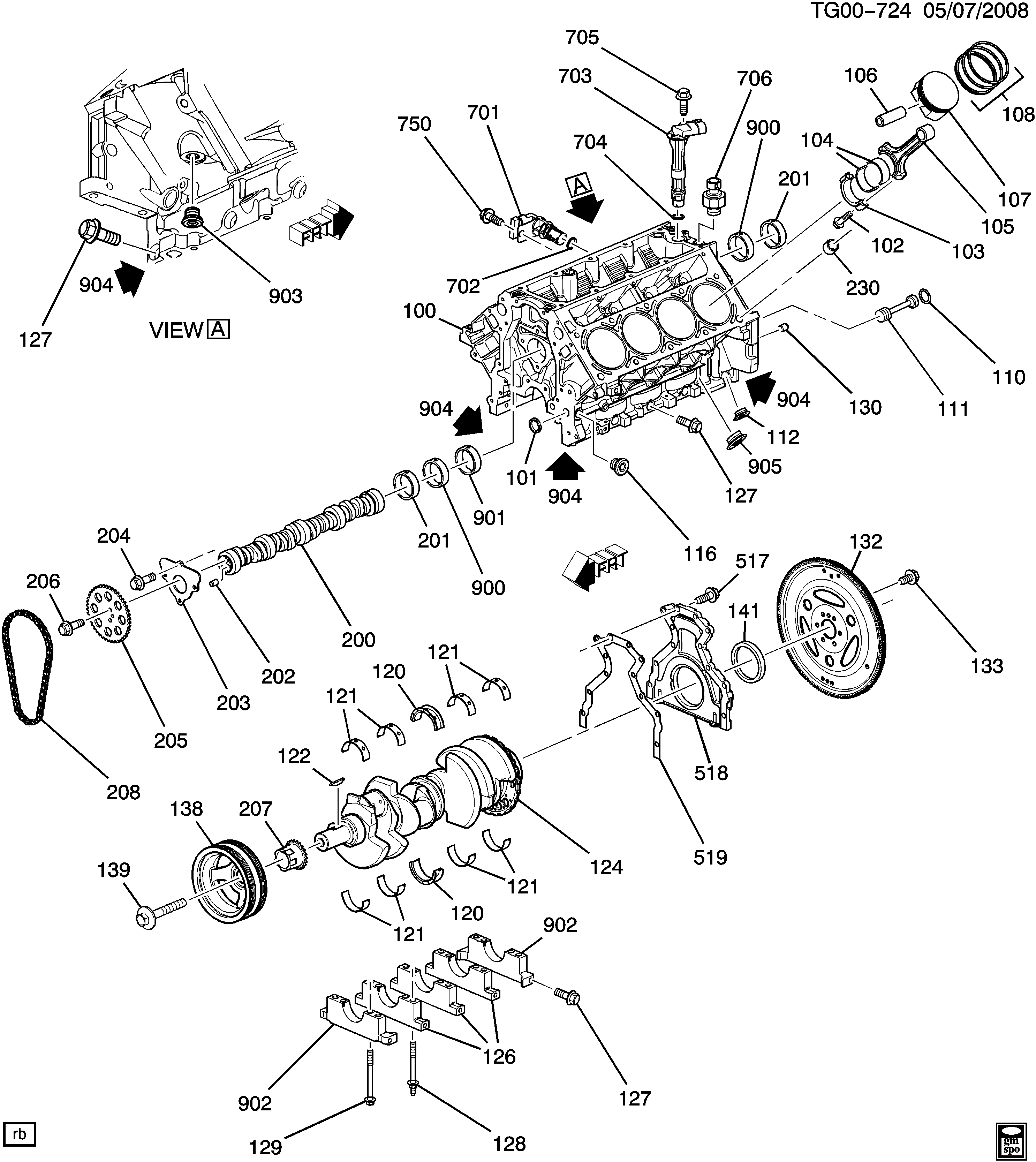 Trailblazer Parts Diagram