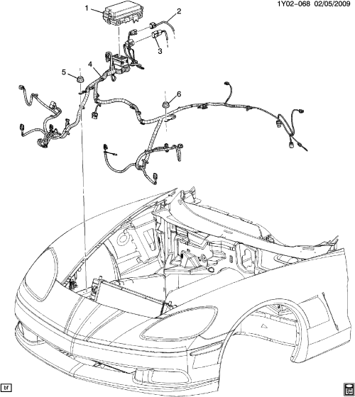 small resolution of wiring harness front lamps