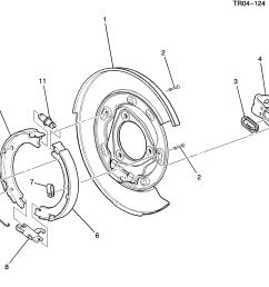 gm brake diagram [ 2981 x 2522 Pixel ]
