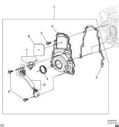 pontiac g8 e engine asm v8 front cover l76 6 0y u003e epc online rh nemigaparts [ 2994 x 3308 Pixel ]
