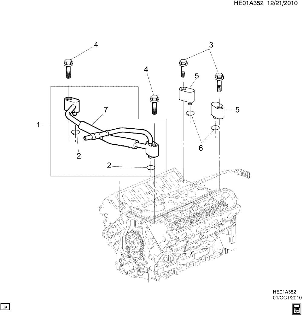 medium resolution of pontiac g8 e engine asm v8 coolant air bleed l76 6 0y epc online nemiga com