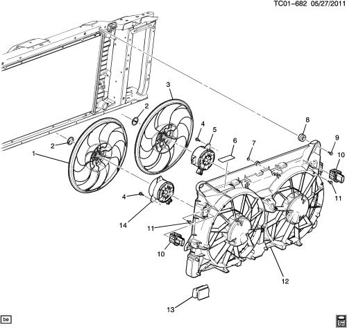 small resolution of ck107 06 engine coolant fan lfa 6 0 5
