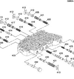 gp gr automatic transmission mh8 part 2 6t40 control valve  [ 2988 x 2207 Pixel ]