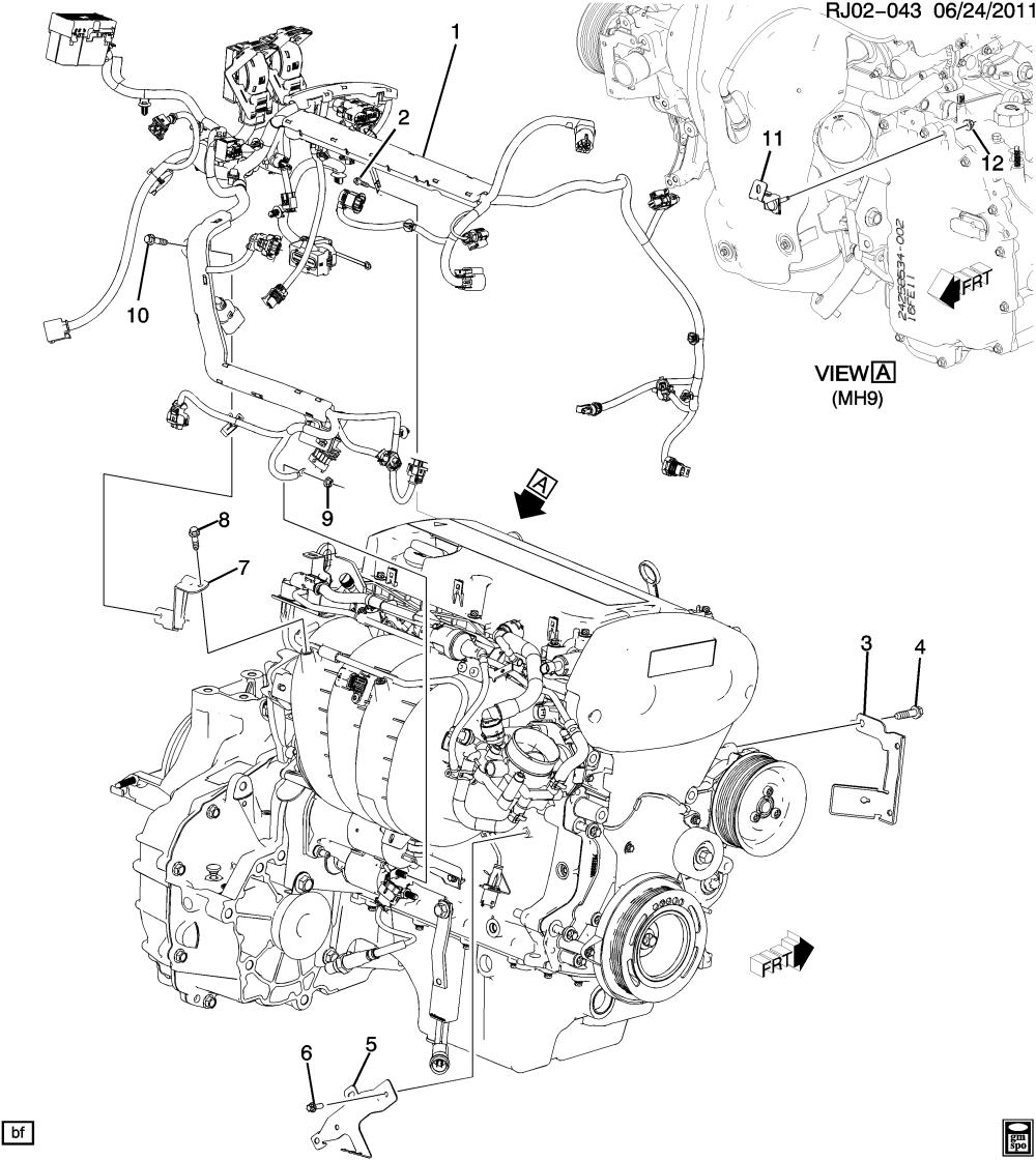 medium resolution of sonic sedan canada and us wiring harness engine u003e chevrolet epc sonic sedan