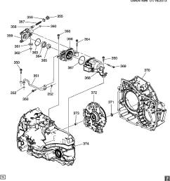 gb gm automatic transmission mhh 6t40 auxiliary fluid pump [ 3002 x 3244 Pixel ]