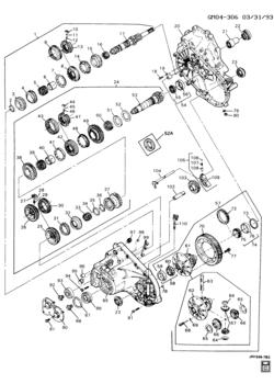 5 speed manual transmission diagram