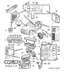 saab 9 3 9440 spare parts catalog epc [ 1686 x 2371 Pixel ]