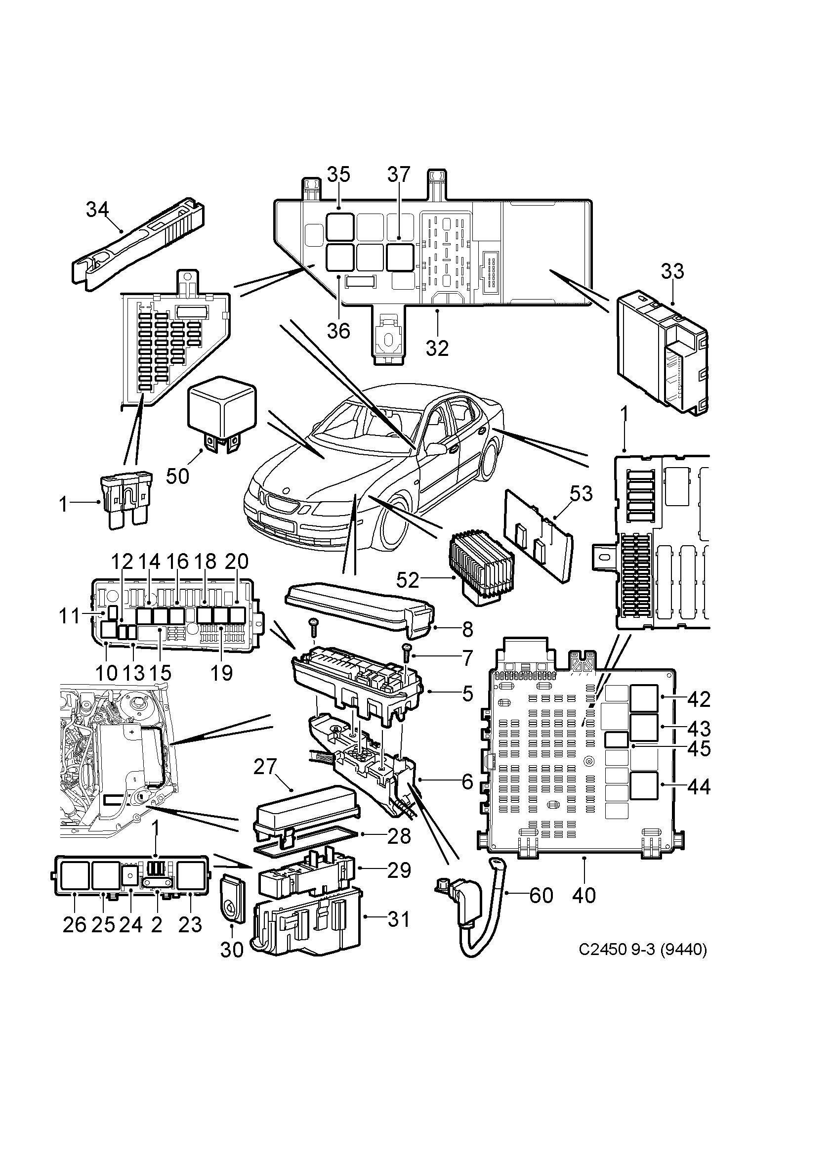 hight resolution of saab 9 3 9440 spare parts catalog epc