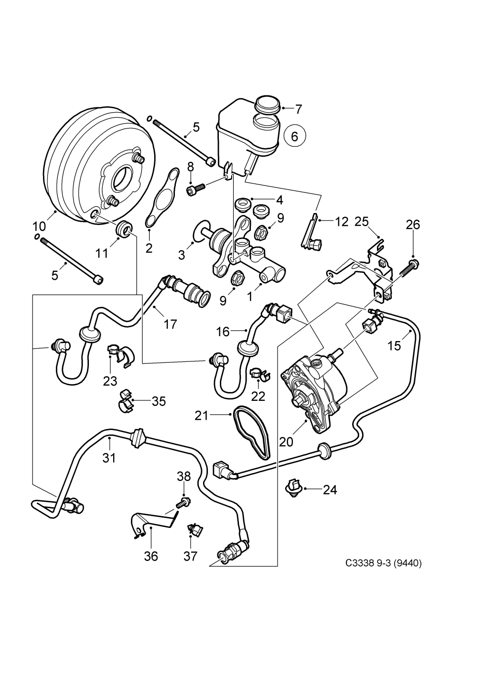 medium resolution of saab 9 3 9440 spare parts catalog epc