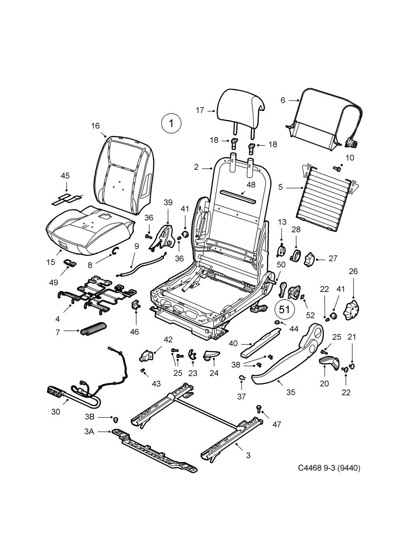 medium resolution of saab 9 3 9440 spare parts catalog epc