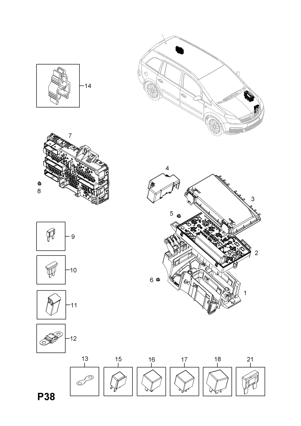 medium resolution of opel zafira b fuse box u003e opel epc online u003e nemigaparts com opel corsa b fuse box diagram opel zafira b fuse box