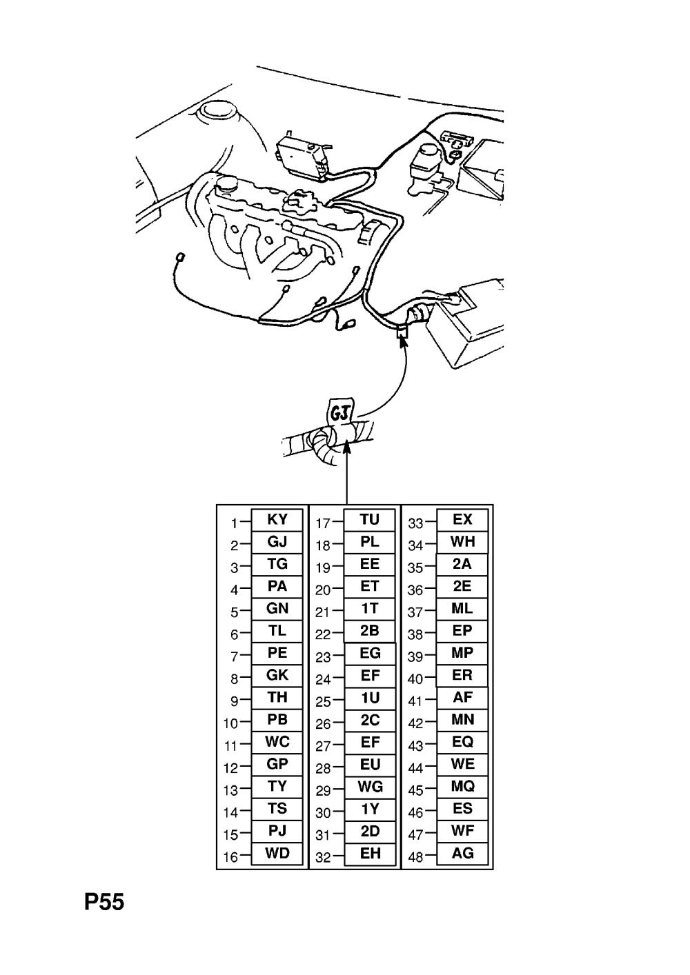 medium resolution of engine wiring harness