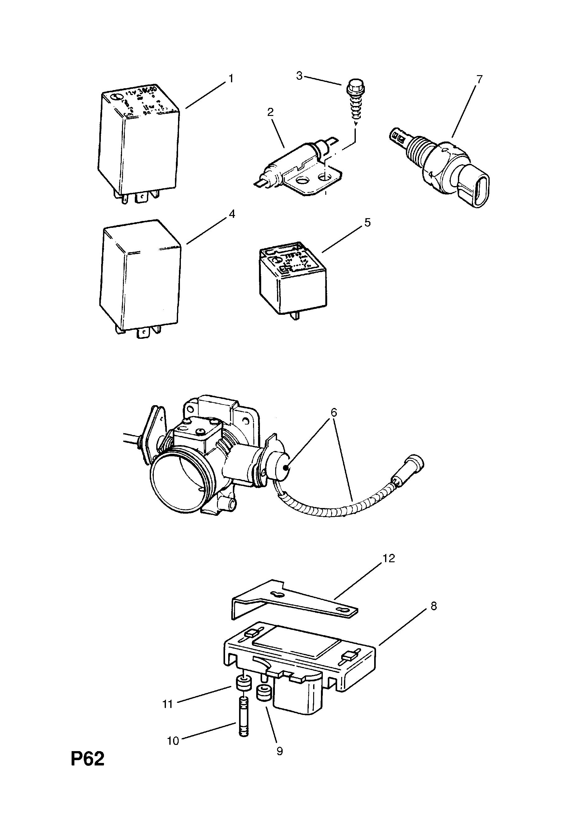 Opel Fuel Pump Diagram