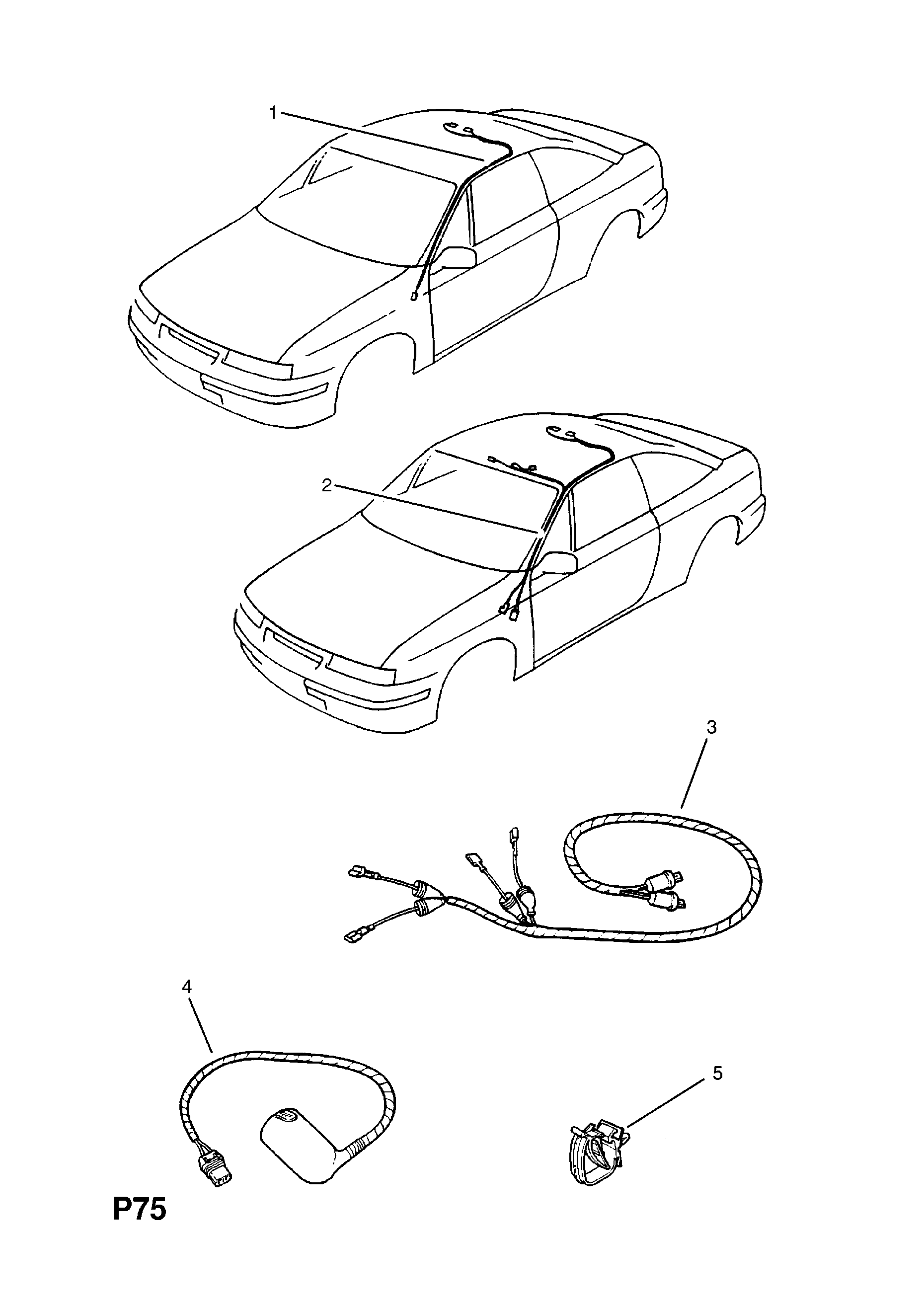 related with opel wiring harness