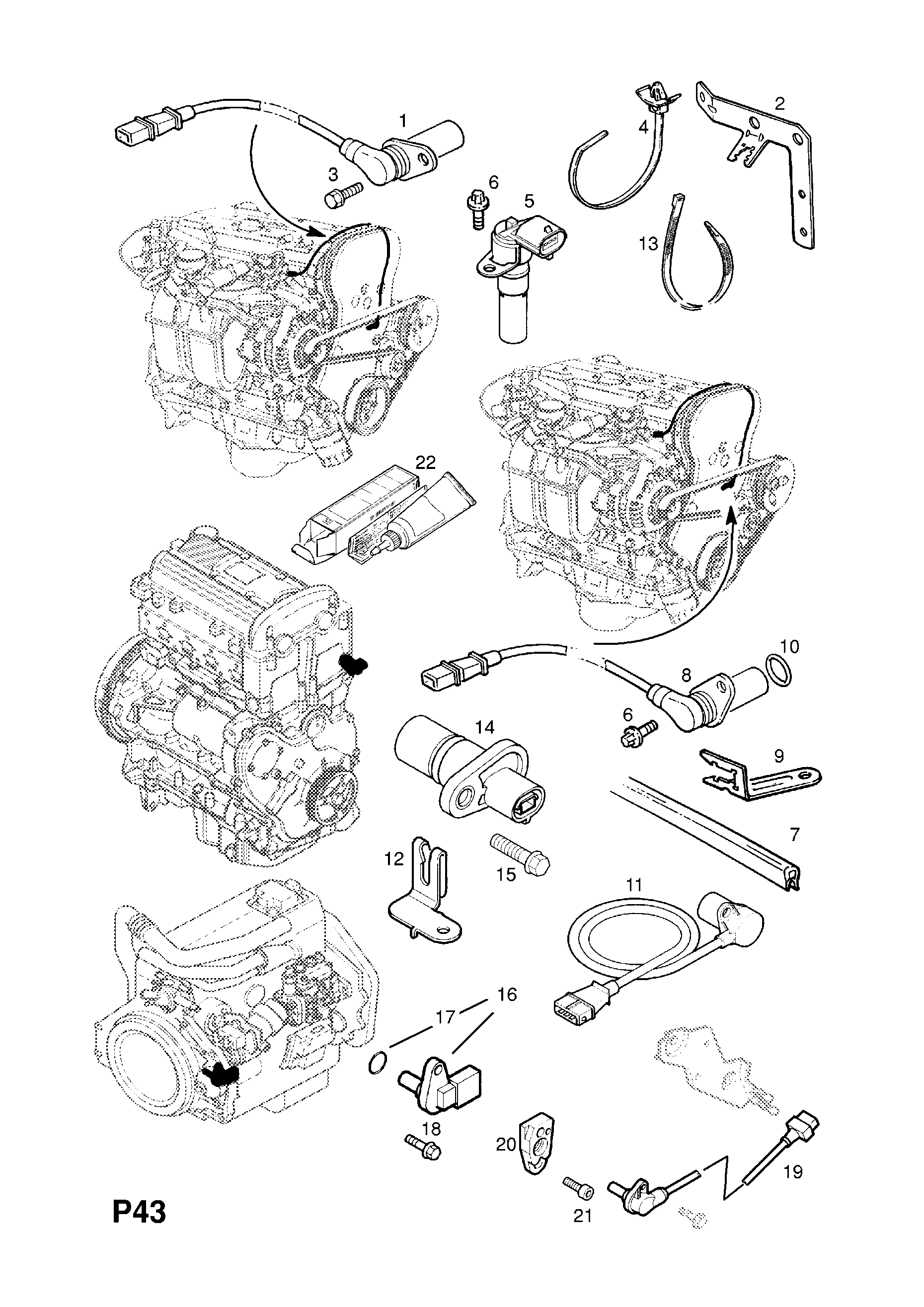 Wire Diagram: Z18xe Engine Wiring Diagram