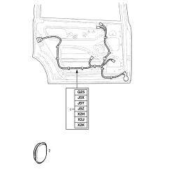 opel astra g zafira a rear door harness contd opel epc online nemigaparts com [ 1860 x 2631 Pixel ]