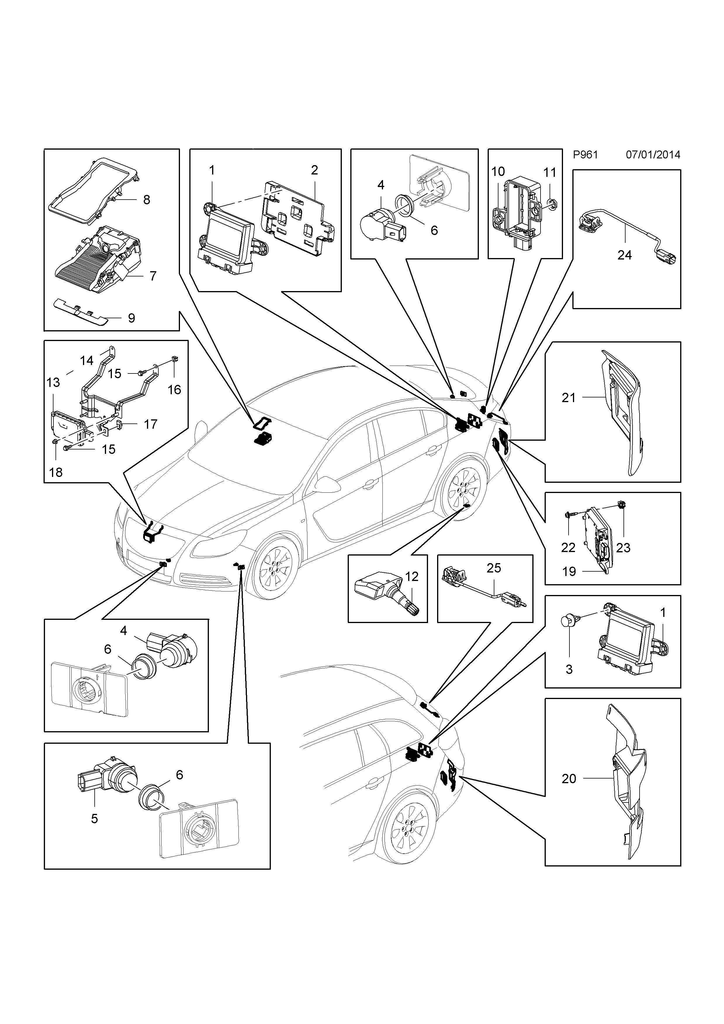 Opel Cruise Control Diagram