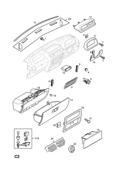 small resolution of vauxhall fuse box cover