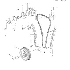 Vauxhall Corsa Timing Chain Diagram Wiring Car Audio Speakers D Gear And Pulleys Opel Epc Online