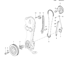 Vauxhall Corsa Timing Chain Diagram 1998 Ford Contour Fuel Pump Wiring E Gear And Pulleys Opel Epc Online
