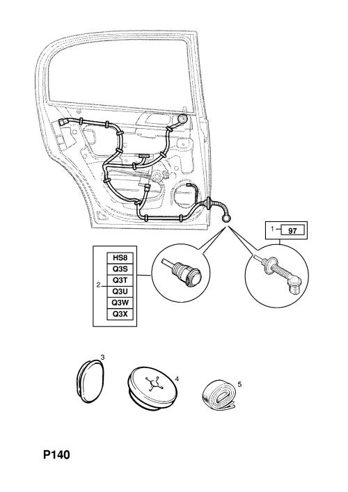 small resolution of opel astra g zafira a rear door harness opel epc online nemigaparts com