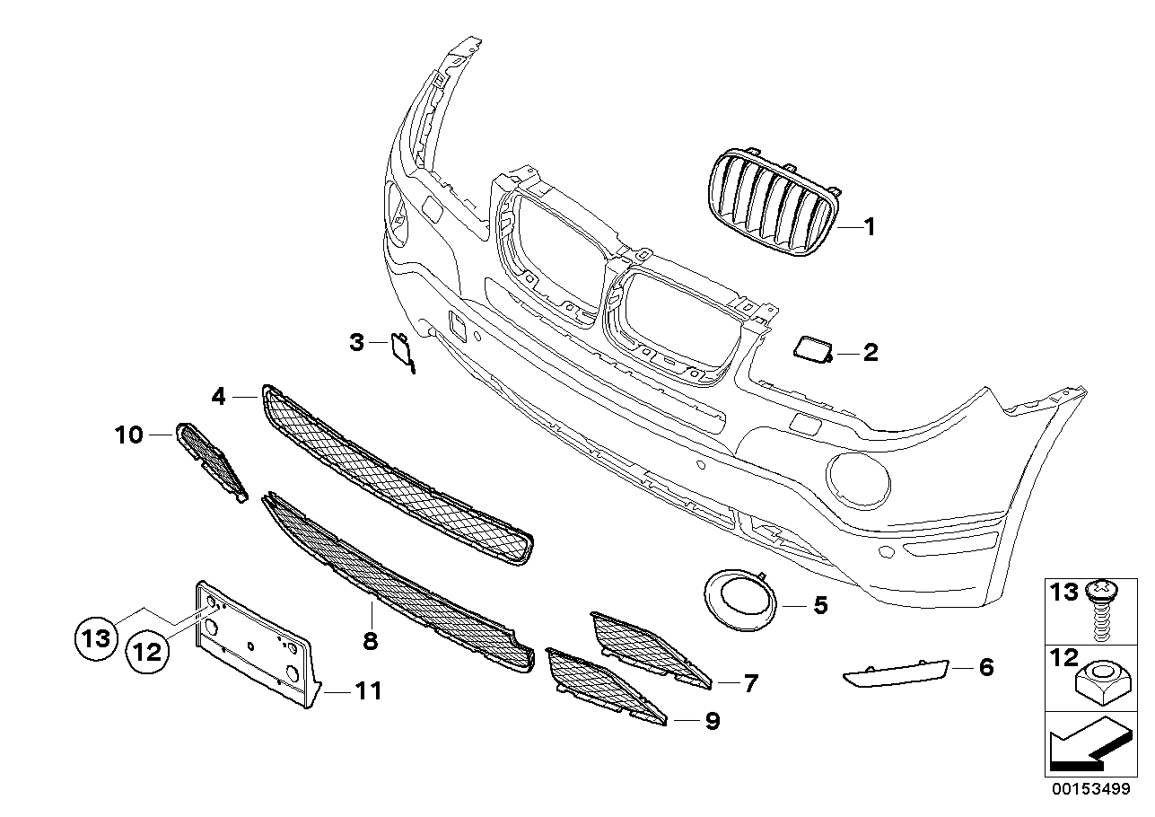 Bmw X3 Parts Diagram