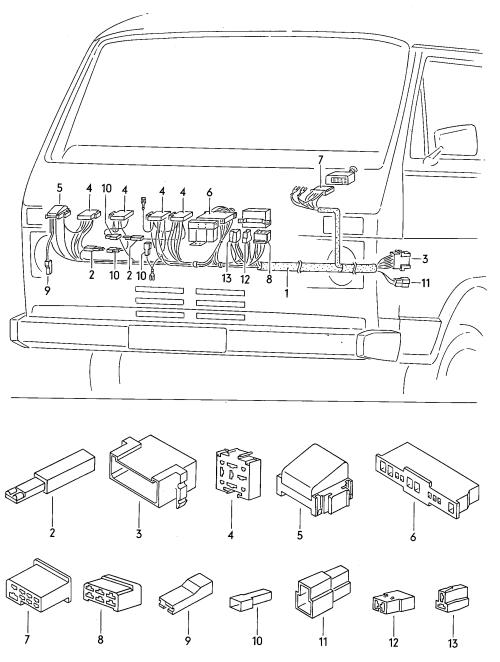 small resolution of volkswagen vanagon 1988 1992 vag etka
