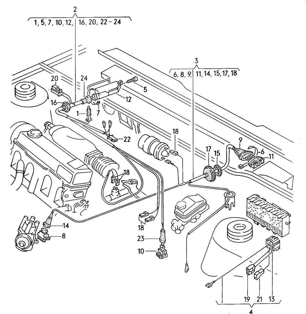 medium resolution of volkswagen rabbit conv golf cabrio 1984 1993 vag etka