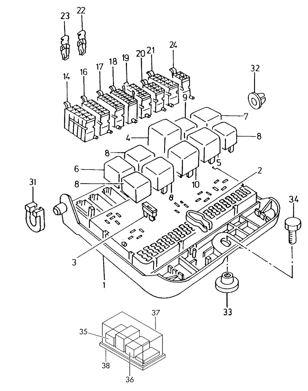medium resolution of skoda felicia fuse box