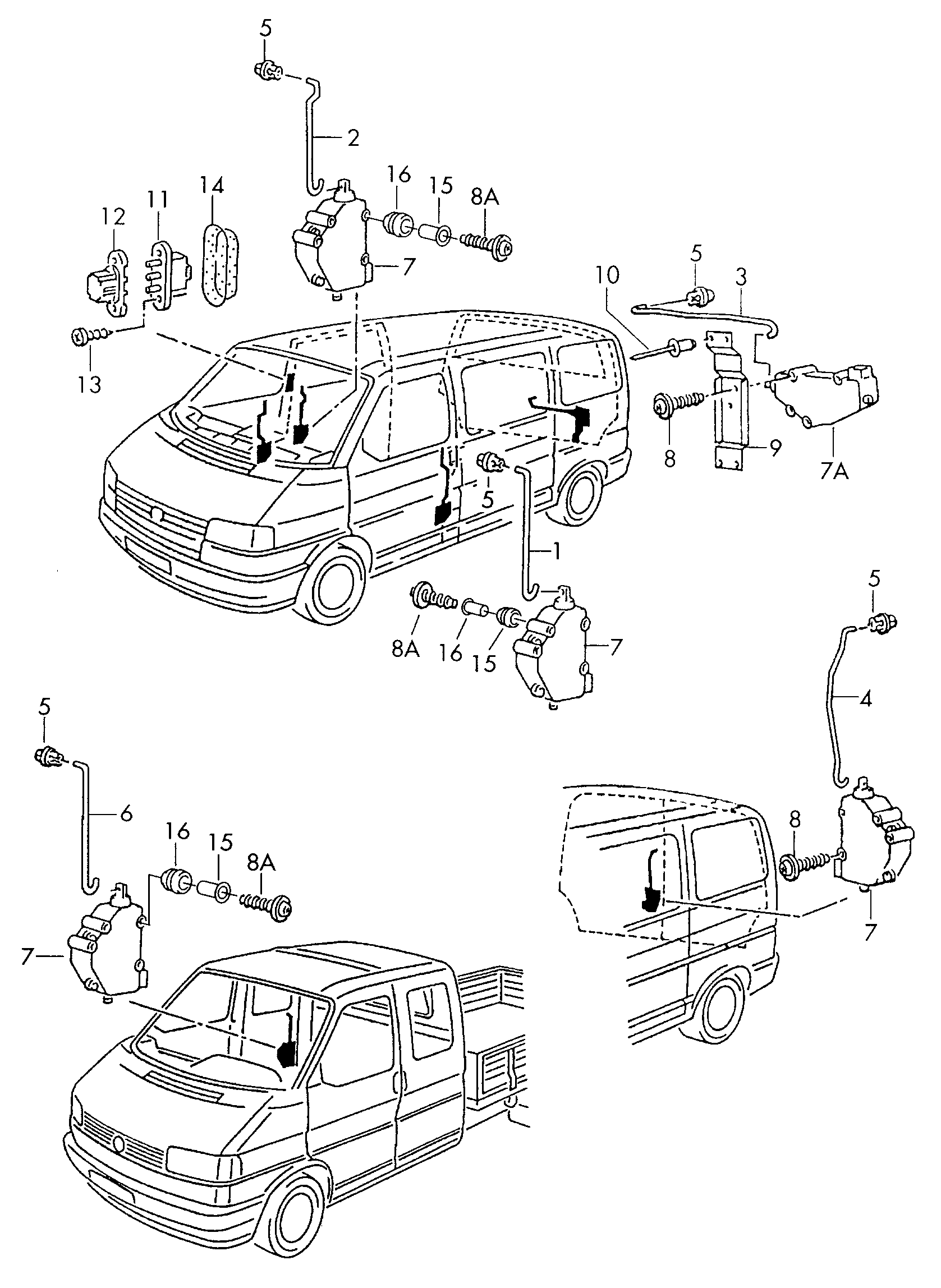 Vw T4 Zentralverriegelung Stromlaufplan