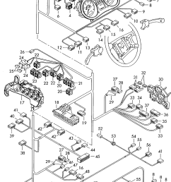 audi a2 2000 2005 individual parts central wiring set u003e vag audi a2 central locking wiring diagram [ 1727 x 2513 Pixel ]