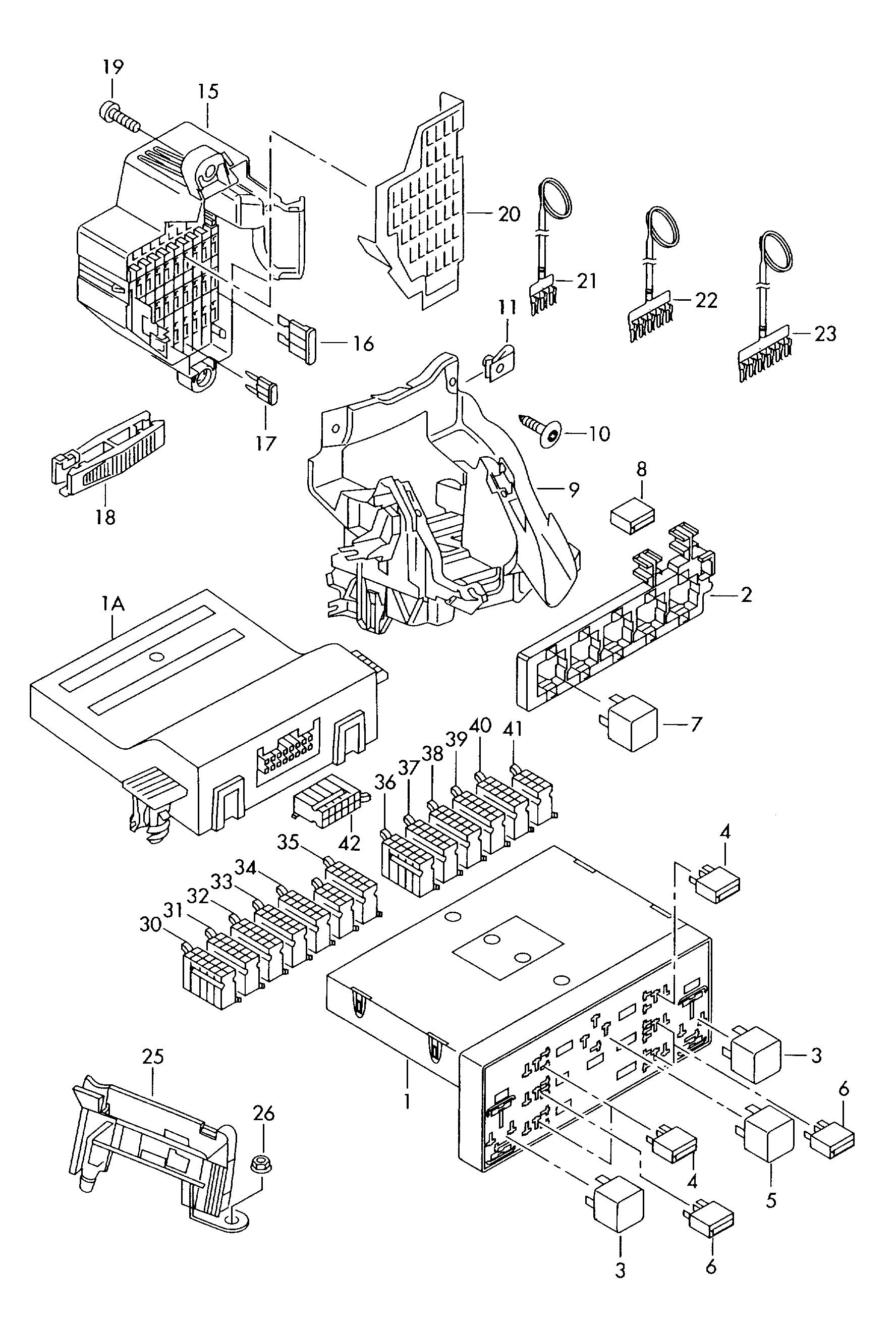 Skoda Octavium Fuse Box Position