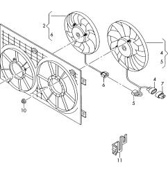 radiator fan skoda octavia 2004 2008 vag etka [ 1776 x 1522 Pixel ]