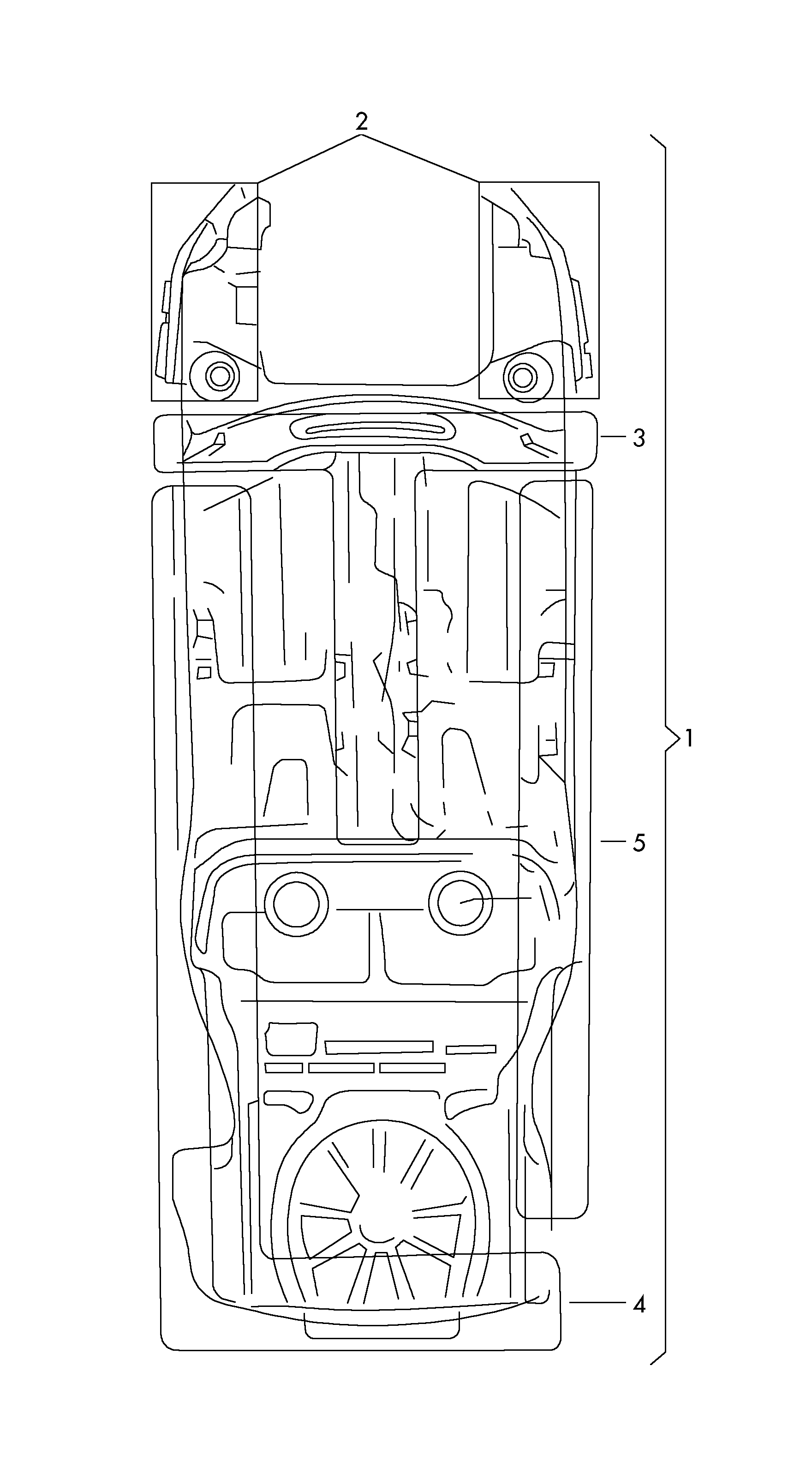 [WRG-4948] Skoda Fabia Central Locking Wiring Diagram