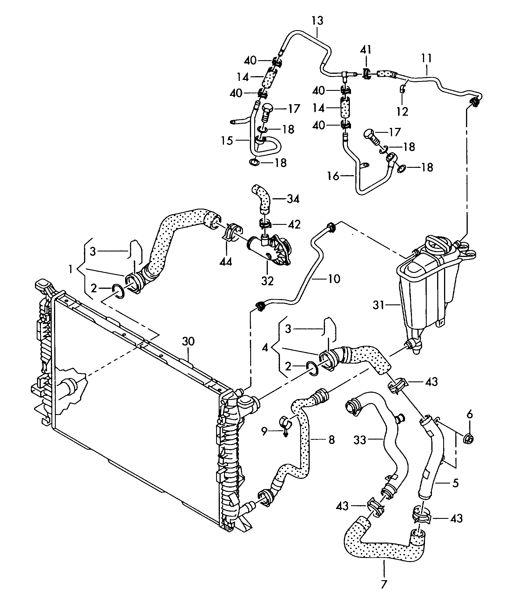 [DIAGRAM] 2000 Audi A6 Engine Diagram Cooling System FULL