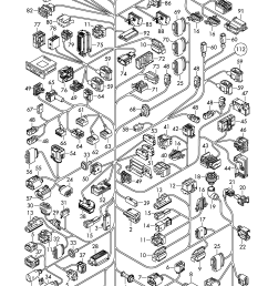 audi q7 2010 2015 individual parts wiring harness foraudi q7 wiring 9 [ 2252 x 3185 Pixel ]