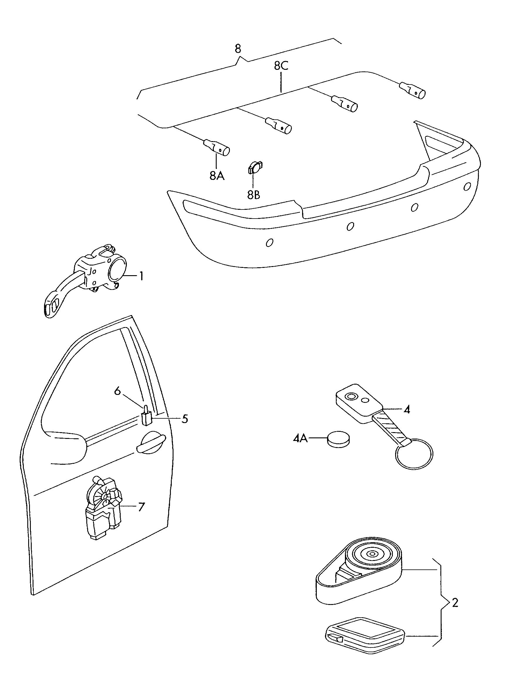 Skoda Alarm Wiring Diagram