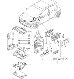 volkswagen up 2014 2017 vag etka [ 2483 x 3508 Pixel ]