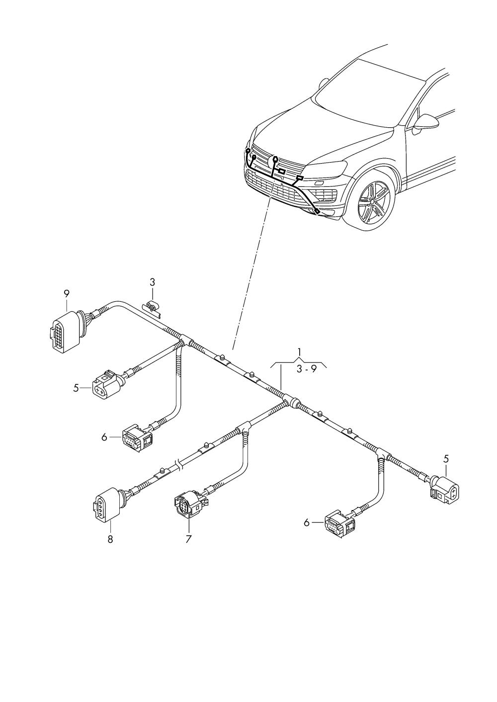 medium resolution of volkswagen touareg 2015 2017 vag etka